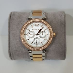 Women's Michael Kors two tone ladies Parker watch